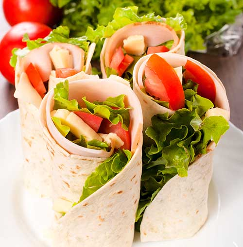 Tasty Turkey Wrap