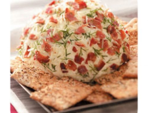 Festive Veggie Cheese Balls