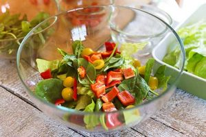 Groovy Pepper and Tomato Salad