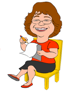 Cartoon of Judith A. Smith, Ph.D.