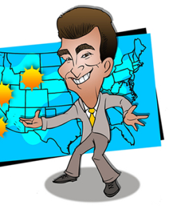 Cartoon of Tom DiVecchio.