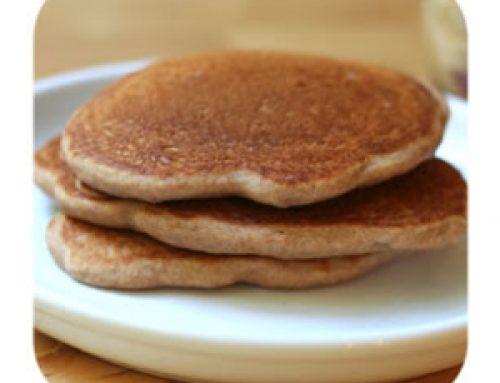 Honey Wheat Protein Pancakes