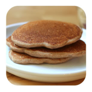 Honey Wheat Protein Pancakes