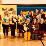 Wellsville Goes to School teachers.